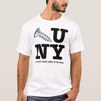 Schrauben Sie Sie New- Yorkt-stück T-Shirt