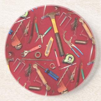 Schraubenzieherschlüsselmesser, das elektrisches getränkeuntersetzer