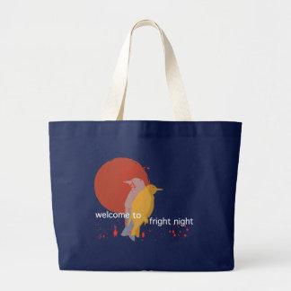 Schrecken-Nacht Jumbo Stoffbeutel