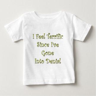 Schreckliche Ablehnung Baby T-shirt