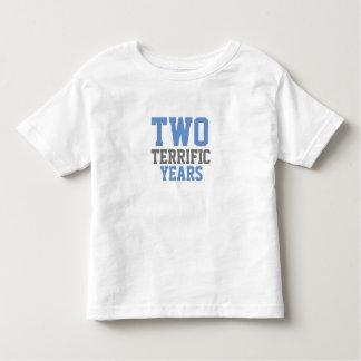 Schreckliche Twos Kleinkind T-shirt