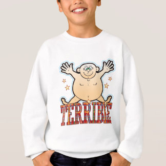 Schrecklicher fetter Mann Sweatshirt
