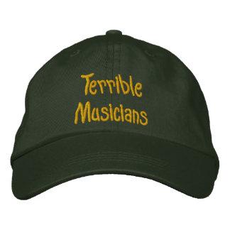 Schrecklicher Musiker-Hut Bestickte Kappe