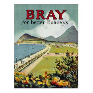 Schrei ~ für bessere Feiertage Postkarte