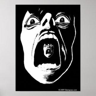 Schrei-Plakat Poster