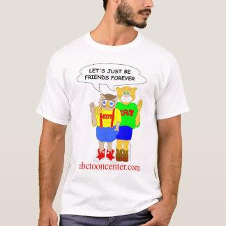 """Schrei und Kat """"Freunde für immer """" T-Shirt"""