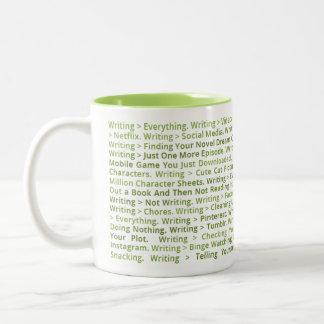 Schreiben > alles Tasse (Grün)