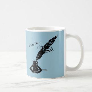 Schreiben Sie an! Kaffeetasse