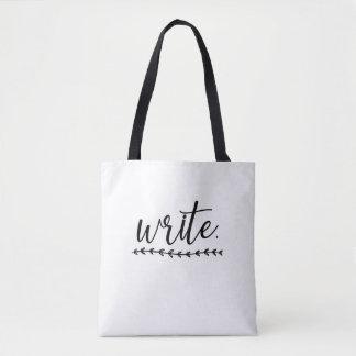 Schreiben Sie an Tasche