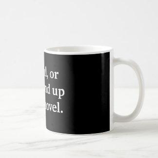 Schreiben Sie das vorsichtige Geschenk oder Sie Tasse