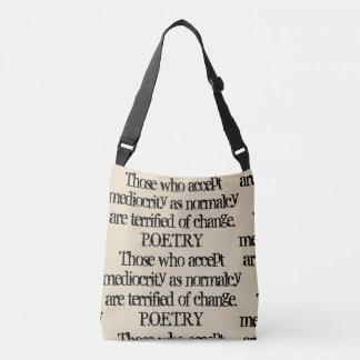 Schreiben Sie Ihre Poesie… Tragetaschen Mit Langen Trägern