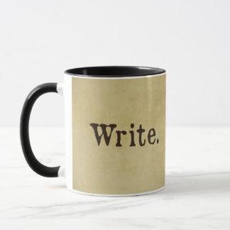 Schreiben Sie Inspirational Tasse für kreative