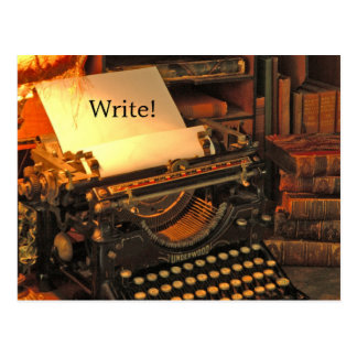 Schreiben Sie! Postkarte
