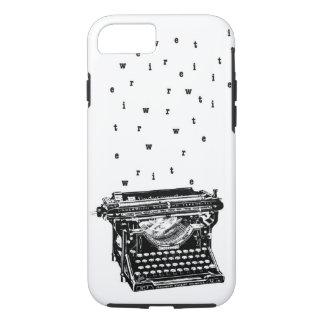 Schreiben Sie/Schreibmaschinen-Kasten iPhone 8/7 Hülle