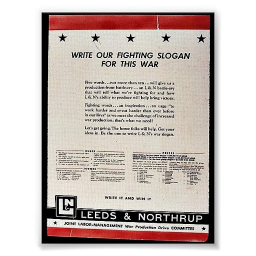 Schreiben Sie unseren kämpfenden Slogan für diesen Plakatdruck