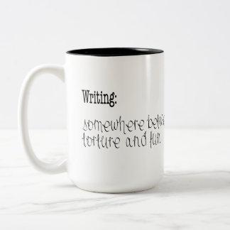 Schreiben: Tasse