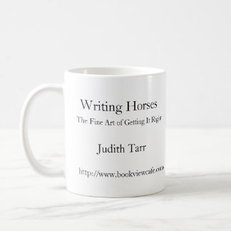 Schreibens-Pferde Kaffeetasse