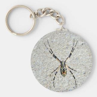 Schreibens-Spinne Keychain Schlüsselanhänger