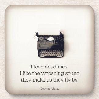 Schreibens-Untersetzer Untersetzer
