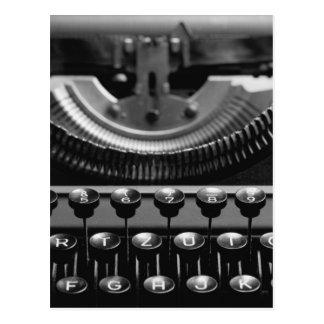 Schreibmaschine Postkarte