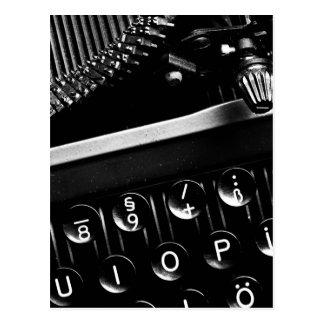 Schreibmaschine Postkarten