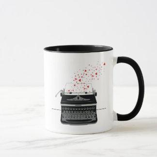 Schreibmaschinen-Liebe - Tasse