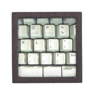 Schreibmaschinen-Tastatur Schachtel