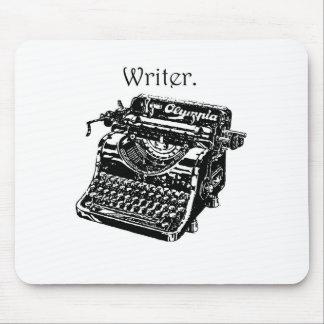 Schreibmaschinen-Verfasser Mousepad