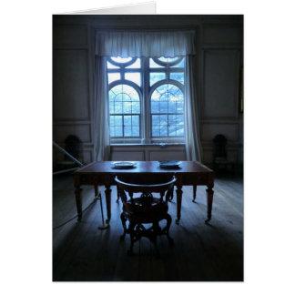 Schreibtisch bei Sudbury Hall Karte