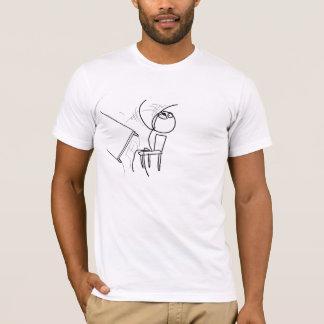 Schreibtisch drehen meme um T-Shirt