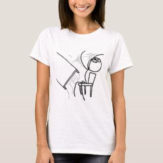 Schreibtisch drehen Raserei Meme um T-Shirt