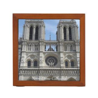 Schreibtisch-Organisator--Notre Dame-Kathedrale Stifthalter