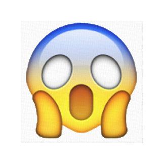 Schreien - Emoji Leinwanddruck