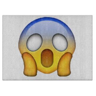 Schreien - Emoji Schneidebrett