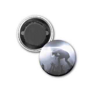 Schreien Sie es heraus! Runder Magnet 2,5 Cm