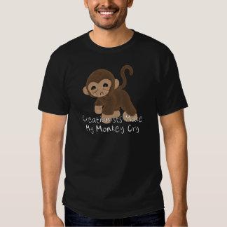 Schreiender Affe Tshirt