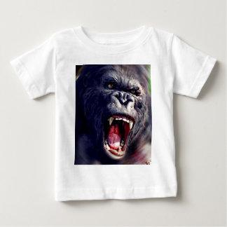 Schreiender Gorilla Baby T-shirt
