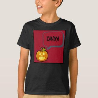 Schreiender Kürbis Halloween T-Shirt