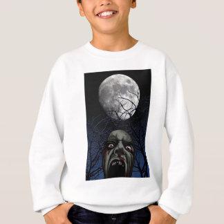 schreiender Zombie Sweatshirt