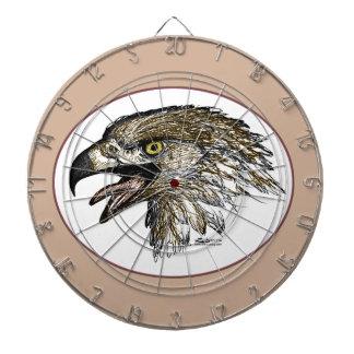 Schreiendes Eagle Dartscheibe