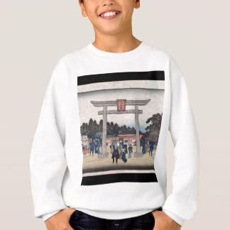 Schrein der Reihen-II Sannō bei Nagatanobaba Sweatshirt