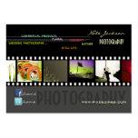 Schriftart der Portfoliogeschäftskarten-Fotos Visitenkarte