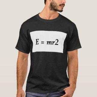 Schriftart E=mr2 T-Shirt