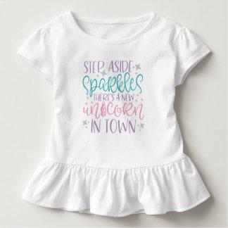 Schritt-beiseite Glitzern Kleinkind T-shirt