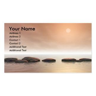 Schritt-Steine Visitenkarten