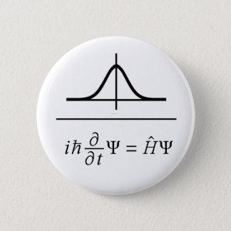 Schrödinger Gleichung Runder Button 5,1 Cm