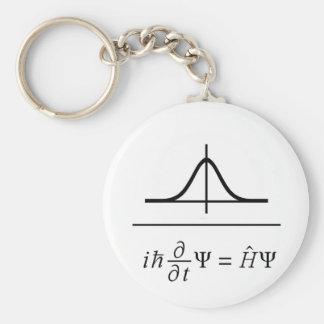 Schrödinger Gleichung Standard Runder Schlüsselanhänger