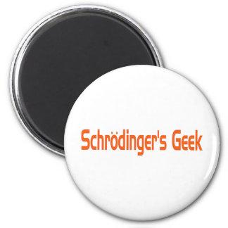 Schrodingers Aussenseiter Runder Magnet 5,7 Cm