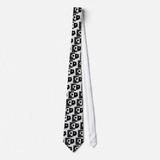 Schrödingers Katze Bedruckte Krawatten