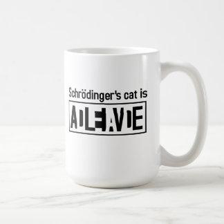 Schrodingers Katze ist Kaffeetasse